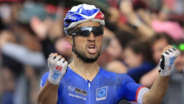 Giro d'Italia - Bouhanni doubles up with stage seven win