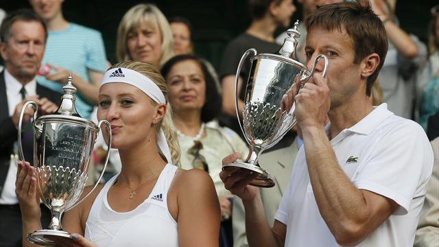 Wimbledon - Nestor and Mladenovic win mixed doubles title