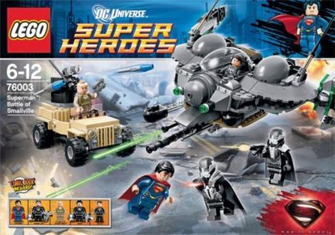 'Man of Steel' LEGO set reveals some minor spoilers
