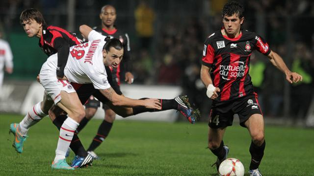 Ligue 1 - PSG title hopes dented by defeat at Nice