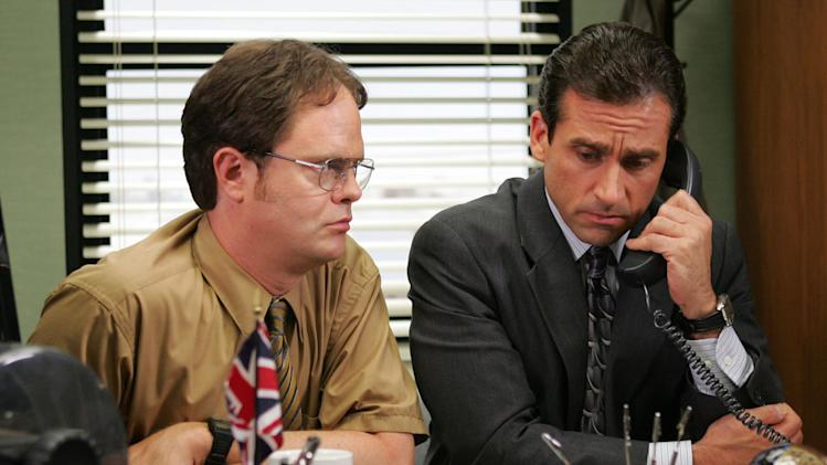 Dwight Schrute and Michael Scott (The Office)