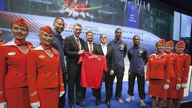 Soccer - Manchester United Global Commercial Partner Announcement - Old Trafford