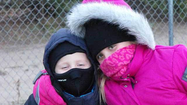 Kids Allergic to the Cold - Literally