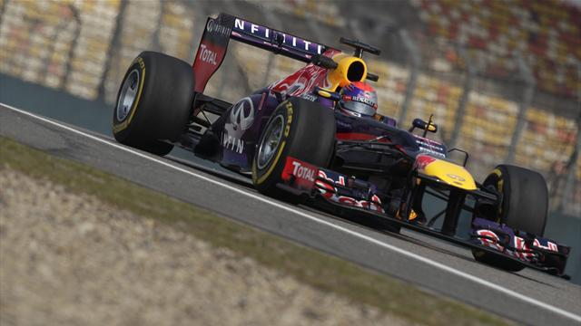 Formula 1 - Chinese GP Free Practice 3: LIVE