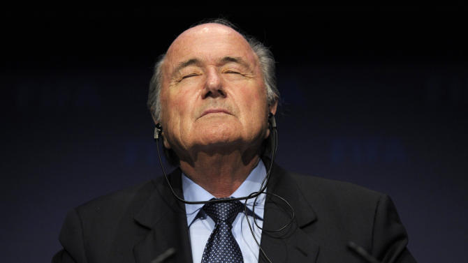Sepp Blatter back at work at FIFA headquarters