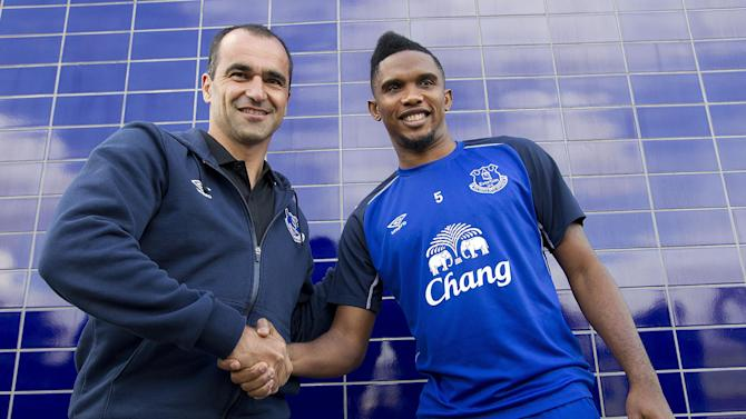 Premier League - Roberto Martinez: Samuel Eto'o on the verge of leaving Everton