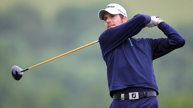 Golf - Thornton holes in one, takes Saint Omer lead