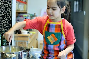Getting kids into curry - Indian recipes for young people
