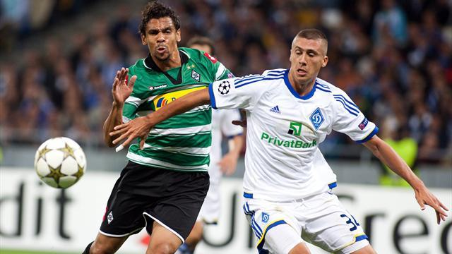 Champions League - Kiev survive Gladbach fightback to qualify