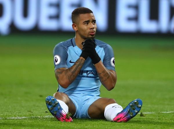 Premier League: Gabriel Jesus 'out for months' after fracturing metatarsal