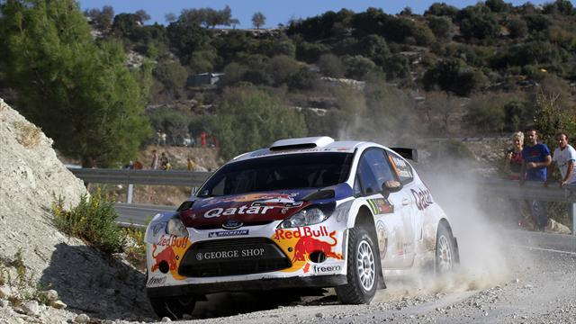 IRC - Al-Attiyah still leads in Cyprus despite Mikkelsen charge
