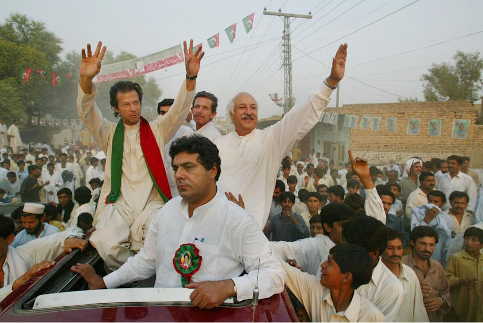 PTI Party Campaigns Days Before Pakistan Election