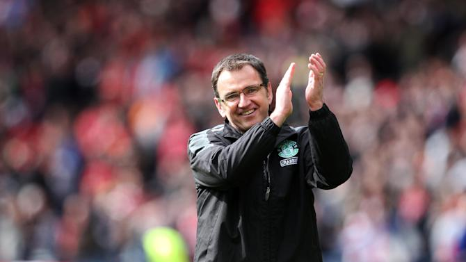 Pat Fenlon felt the opening goal was crucial in his team's 3-0 victory over Dundee