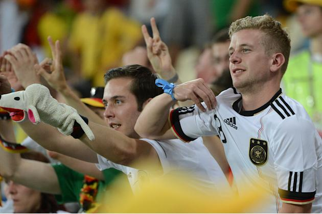 German Fans AFP/Getty Images