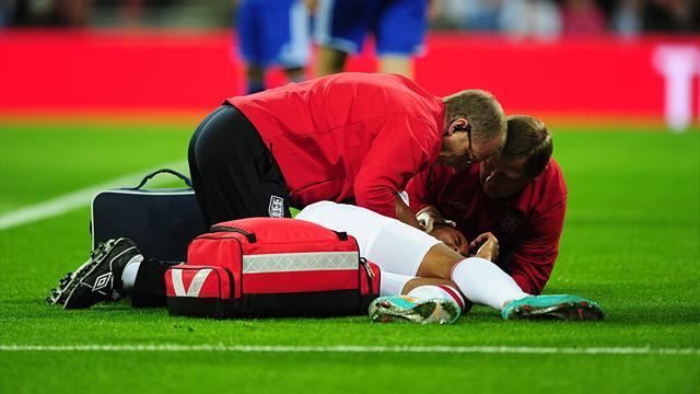 Walcott ruled out of England's Poland trip