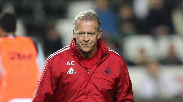Alan Curtis steps up to the role of first-team coach at Swansea