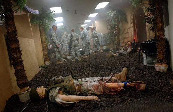 Artificial body parts created by 3D printers could someday replace the less realistic dummies and human cadavers used in military medical training.