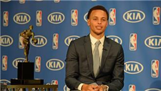 Warrior's Curry named NBA's MVP for the season