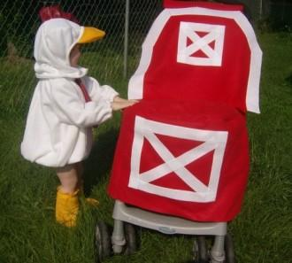 Red Barn Stroller Costume