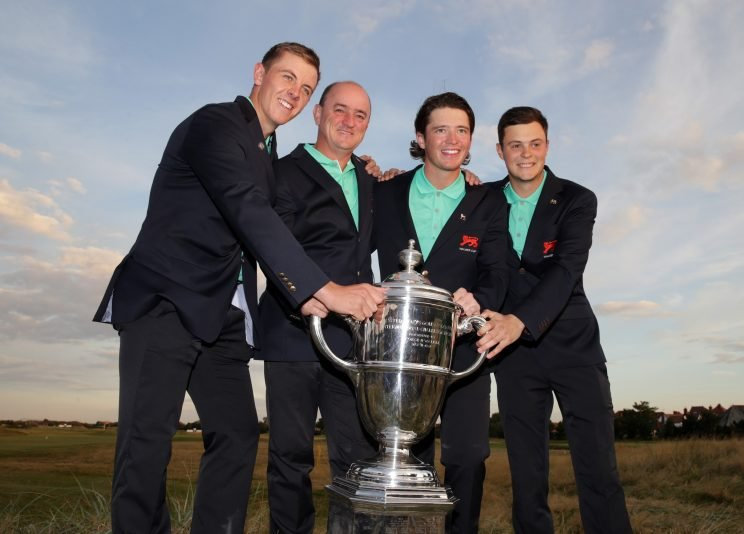 GB&I won the 2015 Walker Cup. (Getty Images)