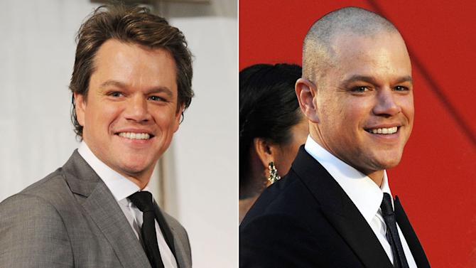 haircuts mattdamon