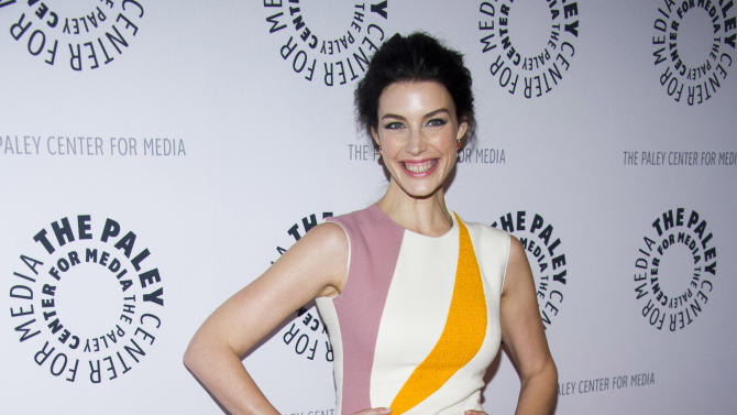 "Jessica Pare from the cast of ""Man Men"" attends ""Mad-ness Returns to the Paley Center"" at The Paley Center for Media on Tuesday, April 23, 2013, in New York. (Photo by Charles Sykes/Invision/AP)"