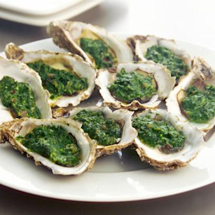 Oysters Rockerfeller: Recipes: Food