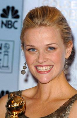 """Reese Witherspoon Best Actress in a Musical or Comedy - """"Walk the Line"""" 63rd Annual Golden Globe Awards - Press Room Beverly Hills, CA - 1/16/06"""