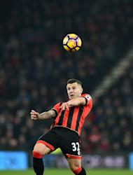 Bournemouth's midfielder Jack Wilshere controls the ball during the English Premier League football match between Bournemouth and Manchester City at the Vitality Stadium in Bournemouth, southern England on February 13, 2017