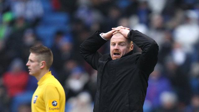 Football - Dyche blames officials