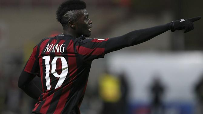 Niang happy at Milan despite Leicester interest