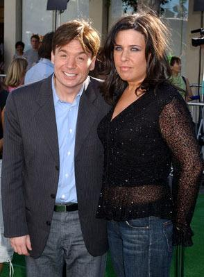 Mike Myers and Robin Ruzan at the L.A. premiere of Dreamworks' Shrek 2