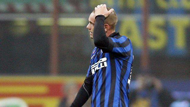 Serie A - Sneijder left out of Inter squad to face Lazio