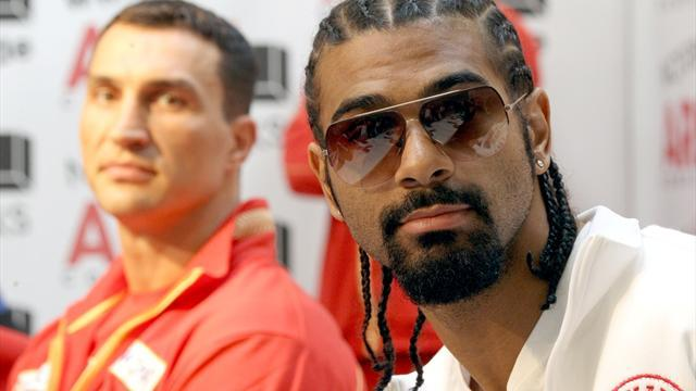 Haye: Ukraine too dangerous for a black man