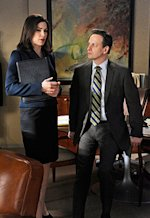 Julianna Margulies and Josh Charles | Photo Credits: Jeffrey Neira/CBS