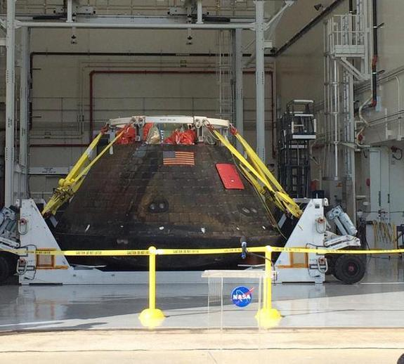 Welcome Home, Orion! NASA Space Capsule Back in Florida After Test Flight