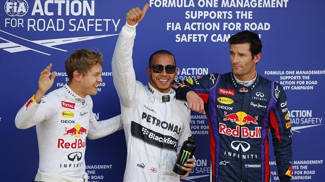 German Grand Prix - Hamilton snatches pole from Vettel