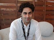 """Tehran documentary maker Massoud Bakhshi at the Cannes film festival on May 21. """"A Respectable Family"""", Bakhshi's feature film debut, is an Iranian film noir about an academic who returns home after two decades in the West to a family and country he no longer recognises"""