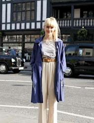 As an artist it is not surprising that Sarah's creative touch comes up trumps for her own street style