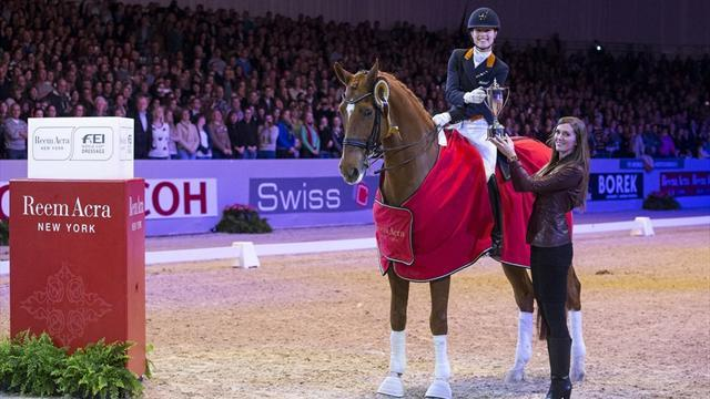 Equestrian - Cornelissen signs off qualifying with win