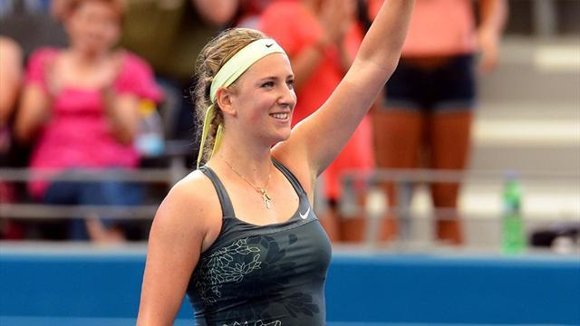 Australian Open - Azarenka out after freak pedicure injury