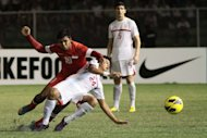 The Azkals ang Lions square off once more in the second leg in Singapore. (NPPA Images)