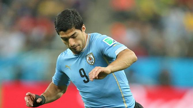 World Cup - Adidas backs FIFA ban, axes Suarez from World Cup campaigns