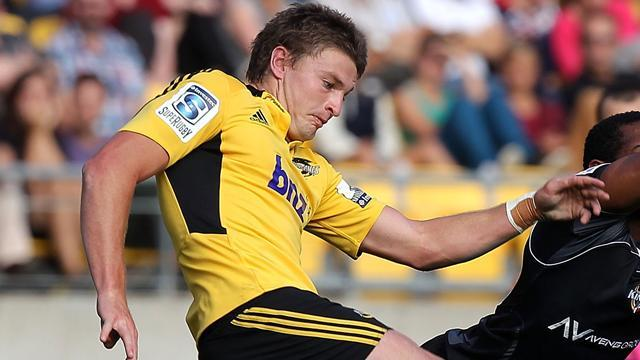 Super Rugby - Barrett sticks boot into Rebels in Hurricanes win