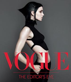 """This book cover image released by Abrams Books shows """"Vogue: The Editor's Eye.""""  The book features interviews with eight of the magazine's stylists through time and includes celebrity portraits and behind-the-scenes candids by the fashion industry's top photographers, including Irving Penn, Mario Testino, Richard Avedon and Annie Leibovitz. (AP Photo/Abrams Books)"""