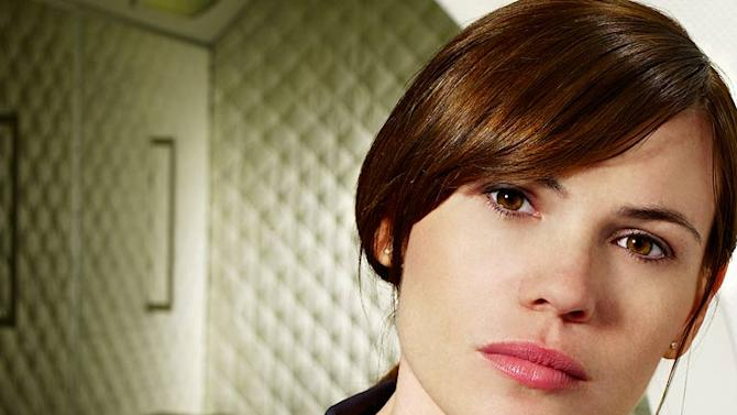 """Clea DuVall as Sue Parsons in """"Virtuality."""""""