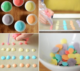Yogurt dots!