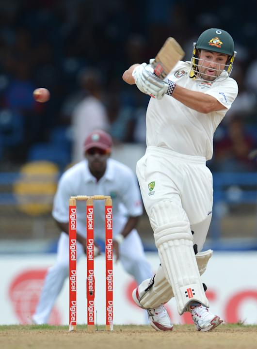 Cricketer Ed Cowan of Australia launches