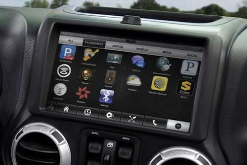 QNX customisable car operating system