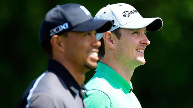 Golf - Rose outshines Woods to take lead at Bay Hill